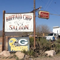 Photo taken at Buffalo Chip Saloon & Steakhouse by Erica B. on 2/27/2012