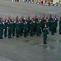 Photo taken at Pusat Latihan Kor Polis Tentera Diraja (PULAPOT) by ♚fatyn♚ on 4/2/2012