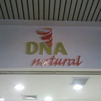 Photo taken at DNA Natural by Robson F. on 7/10/2012