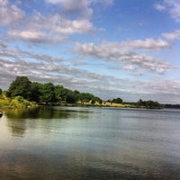 Photo taken at White Rock Lake by Chris v. on 6/13/2012