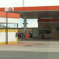 Photo taken at Gasolinera Galp by Tere M. on 4/13/2012