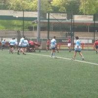 Photo taken at Campo De Rugby Del Fango by Julio U. on 4/21/2012