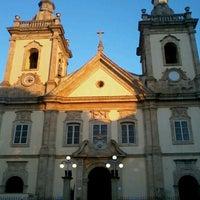 Photo taken at Old Basilica of Our Lady Aparecida by Leonardo R. on 7/18/2012