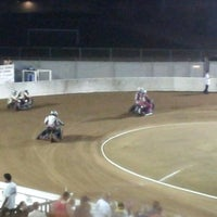 Photo taken at Costa Mesa Speedway by D C. on 9/9/2012