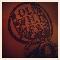 Photo taken at Old Wild West by Giovanni C. on 8/30/2012