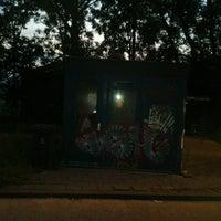 Photo taken at Bushalte De Geer by Hans v. on 7/4/2012