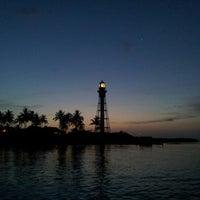 Photo taken at Hillsboro Inlet Lighthouse by Dan B. on 7/6/2012