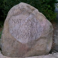 Photo taken at The National AIDS Memorial Grove by James N. on 3/26/2012