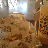 Photo taken at Which Wich? Superior Sandwiches by DJ 5-Oh on 7/14/2012
