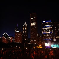 Photo taken at Lollapalooza Bud Light Stage by Ron M. on 8/6/2012