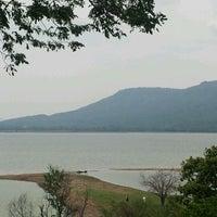 Photo taken at Lam Takong Dam by Nootcharee S. on 4/28/2012