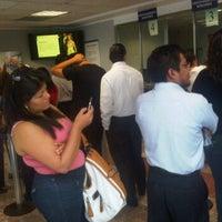 Photo taken at Bancomer by José L. on 5/28/2012