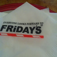 Photo taken at T.G.I. Friday's by Wishes on 4/7/2012