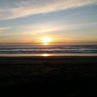 Photo taken at Zmudowski State Beach by Paul W. on 2/21/2012
