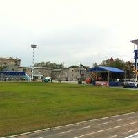 Photo taken at Стадион «Динамо» by Vadim S. on 5/27/2012
