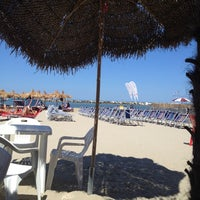 Photo taken at Villa Rosa - Bar Beach & Restaurant by Ilaria B. on 7/18/2012