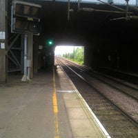 Photo taken at Upminster Railway Station (UPM) by Steve C. on 5/23/2012