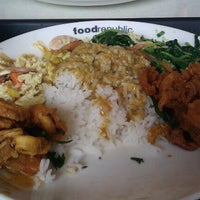 Photo taken at Food Republic by Stephanie L. on 7/2/2012