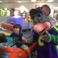 Photo taken at Chuck E. Cheese's by J H. on 7/31/2012