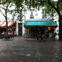 Photo taken at Place du Marché Sainte-Catherine by R A. on 7/27/2012