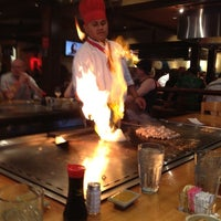 Photo taken at Kobe Japanese Steakhouse and Sushi Bar by Gianna L. on 6/30/2012