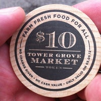 Photo taken at Tower Grove Farmer's Market by Bruce C. on 5/5/2012