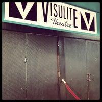 Photo taken at Visulite Theatre by Logan S. on 7/6/2012