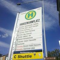 Photo taken at H Hansemannplatz by Tobias on 8/16/2012