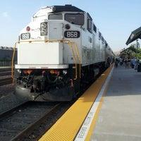 Photo taken at Metrolink Riverside-Downtown Station by Matthew C. on 9/10/2012