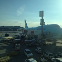 Photo taken at Gate B9 by tomtomzhor on 8/13/2012