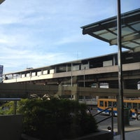 Photo taken at Yellow Line - Quezon Avenue Station by Geoffrey S. on 5/12/2012