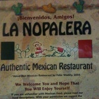Photo taken at La Nopalera by Nikki L. on 2/17/2012