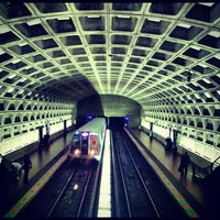 Photo taken at Crystal City Metro Station by Micah W. on 5/17/2012