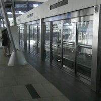 Photo taken at ARIA Express Bellagio Station by Jim on 6/5/2012