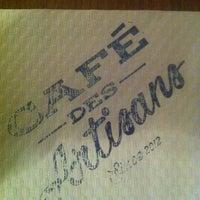 Das Foto wurde bei Café des Artisans von La S. am 4/24/2012 aufgenommen