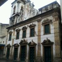 Photo taken at Igreja Nossa Senhora da Conceição dos Militares by Daniel Nunes N. on 7/3/2012