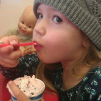 Photo taken at Cold Rock Ice Creamery by Jasmine S. on 3/12/2012