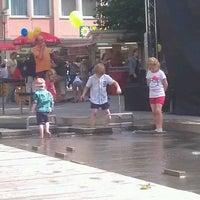 Photo taken at Neuer Markt by Sven-Oliver W. on 7/7/2012