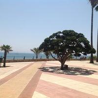 Photo taken at Playa Santa Ana by Ksushka S. on 7/4/2012