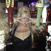 Photo taken at Lucky 13 Saloon by nicoletteelvie on 4/24/2012