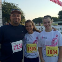 Photo taken at Susan G Komen Race For The Cure North Texas by Greg S. on 6/9/2012