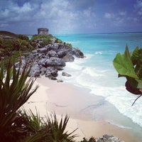 Photo taken at Tulum Archeological Site by Alberto H. on 8/29/2012