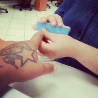 Photo taken at M3H Nail Salon by Filipe on 6/22/2012