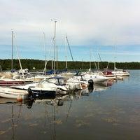Photo taken at Näske Båthamn by Tommaso D. on 6/23/2012