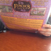 Photo taken at Funcho's Fajita Grill by Rachel R. on 4/1/2012