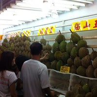 Photo taken at Durian lingers by Tony S. on 9/1/2012