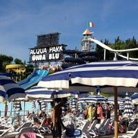 Photo taken at Ondablu Acquapark by Francesco S. on 8/9/2012