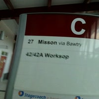 Photo taken at Retford Bus Station by Steven R. on 7/23/2012