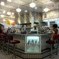 Photo taken at Johnny Rockets by Bruce G. on 7/15/2012