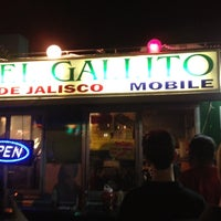 Photo taken at El Gallito De Jalisco Mobile by Drea on 4/1/2012